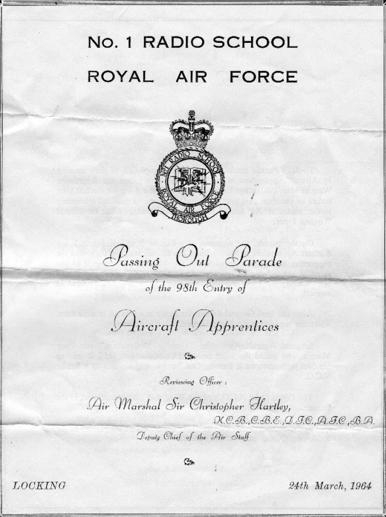 Passout  Programme  Front Cover