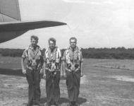 Weston airfield 1961 Frank, Babs, Nigel
