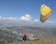 Jon in   Spain 2010. Paragliding since 1998.
